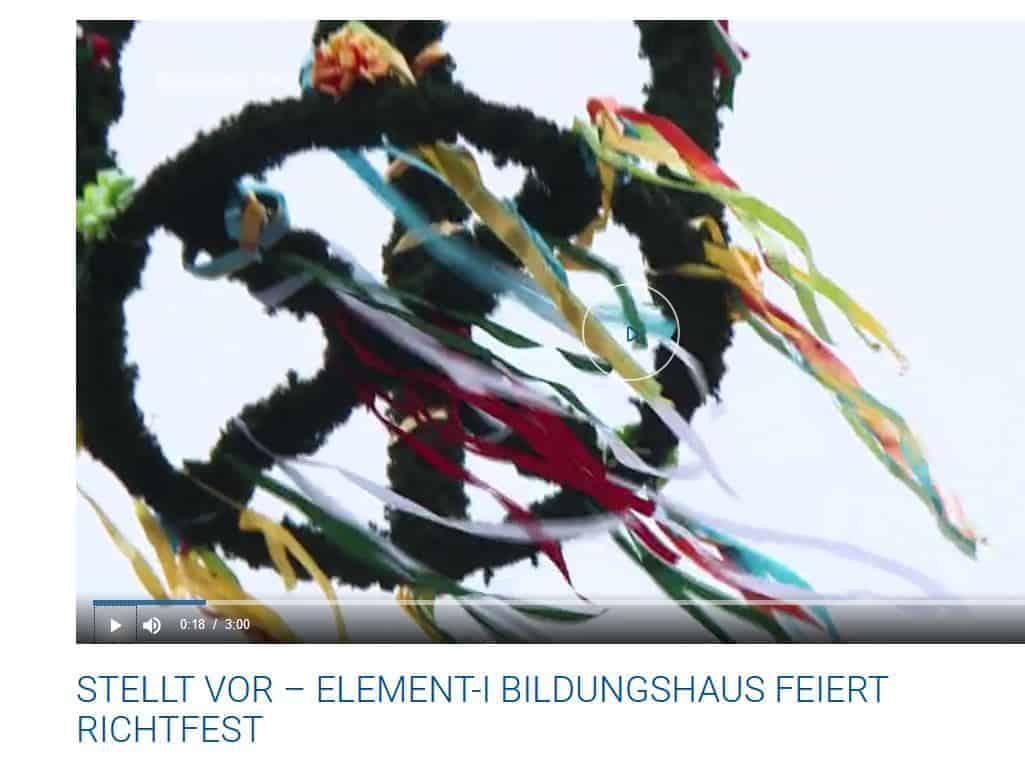 element-i Aktuelles Baden TV Richtfest