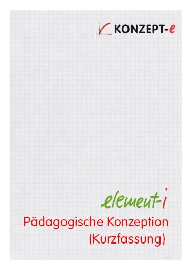 element-i Pädagogische Konzeption