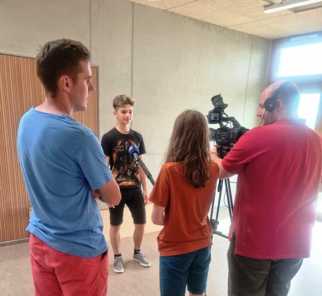 element-i Gemeinschaftsschule Karlsruhe Regio TV 2